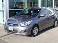Hatchback! Triathlon Gray Metallic 2016 Hyundai Accent