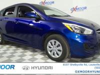 Just Reduced! Hyundai Accent SE CARFAX One-Owner. Clean