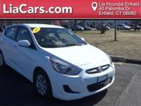 2016 Hyundai Accent in Century White, 1 Owner!, And