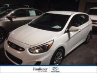 Certified, One Owner 2016 Accent! Priced To Sell Today,