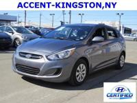 Accent SE, 4D Hatchback, 6-Speed Automatic with