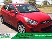 Introducing the 2016 Hyundai Accent! A great vehicle