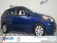 2016 Hyundai Accent SE Black w/Premium Cloth Seat Trim,