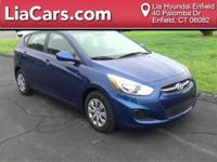 2016 Hyundai Accent in Pacific Blue Pearl and 1 Owner!.