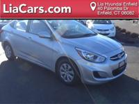 2016 Hyundai Accent in Gray and Hyundai Certified. Gray