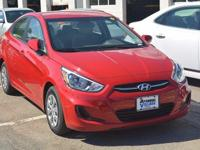 2016 Hyundai Accent SE  in Boston Red Metallic. Popular