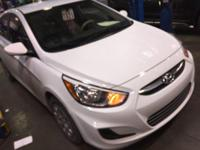 Introducing the 2016 Hyundai Accent! Both practical and