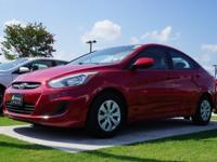2016 Hyundai Accent SE in Boston Red Metallic, This