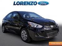 Options:  2016 Hyundai Accent Se|Black/|V4 1.6 L