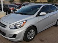Clean CARFAX. Gray.2016 Hyundai Accent SE Silver / Gray