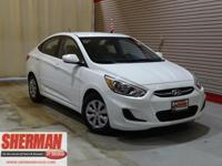 PREMIUM & KEY FEATURES ON THIS 2016 Hyundai Accent