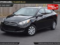 This 2016 Hyundai Accent 4dr 4dr Sedan Manual SE