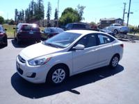 CARFAX One-Owner. 2016 Hyundai Accent SE White One