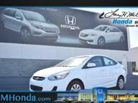 Grab a deal on this 2016 Hyundai Accent SE while we