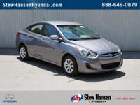 CARFAX ONE OWNER and NON SMOKER. Hyundai Certified.