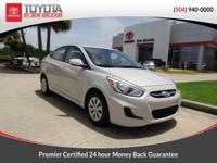 CARFAX One-Owner. Clean CARFAX. Beige 2016 Hyundai