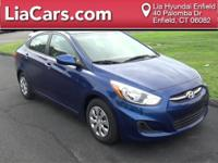 2016 Hyundai Accent in Pacific Blue Pearl, 1 Owner!,