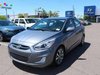 Clean CARFAX. 2016 Hyundai Accent SE FWD 6-Speed 1.6L