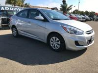 Options:  2016 Hyundai Accent 4Dr Sdn Auto Se