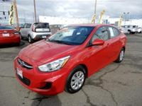 This 2016 Hyundai Accent is perfect for someone looking
