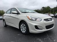 Beige 2016 Hyundai Accent SE FWD 6-Speed Automatic with
