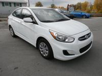 The 2016 Hyundai Accent subcompact comes as a sedan or