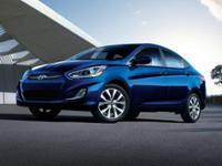 This handsome 2016 Hyundai Accent carries a whole mess