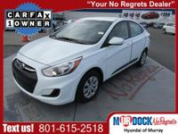 2016 Hyundai Accent SE, One Owner Trade In, Only 21,219