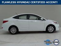 ***WOW! FLAWLESS HYUNDAI CERTIFIED 2016 ACCENT *40+Mpg
