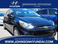 2016 Hyundai Accent SE, Clean CarFax, and One Owner.