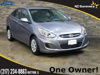 2016 Hyundai Accent Gray Accident Free Auto Check