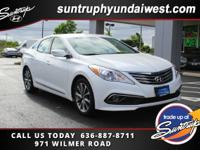 You'll love the way you feel in our 2016 Hyundai Azera