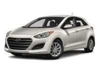 2016 Hyundai Elantra GT Gray CARFAX One-Owner. Clean