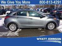 Gray 2016 Hyundai Elantra GT FWD 6-Speed Automatic with
