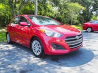 This 2016 Hyundai Elantra GT in Red features: Clean