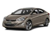 Come see this 2016 Hyundai Elantra Limited. Its