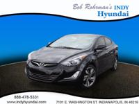 Get ready to go for a ride in this 2016 Hyundai Elantra