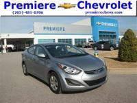 Options:  2016 Hyundai Elantra|Silver/|V4 1.8 L