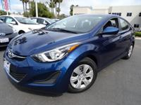 Options:  2016 Hyundai Elantra|Blue|Call Asap! Don't
