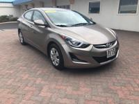This 2016 Hyundai Elantra Limited is proudly offered by