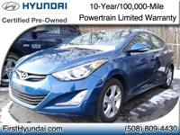 Hyundai Certified - Power Sunroof - Proximity Key w/