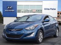 2016 Hyundai Elantra SE Windy Sea Blue CARFAX