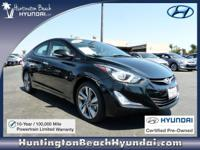 Hyundai Certified Pre-Owned! Backed by a 10 Year /