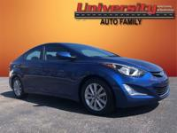 2016 Hyundai Elantra SE FWD 6-Speed Automatic with
