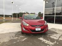 Red 2016 Hyundai Elantra SE FWD 6-Speed Automatic with