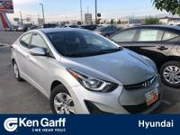 CARFAX One-Owner. Clean CARFAX, Elantra SE, 6-Speed