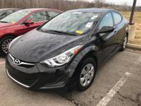 We are excited to offer this 2016 Hyundai Elantra. Your