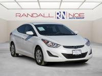 CARFAX One-Owner. 2016 Hyundai Elantra FWD 6-Speed 1.8L
