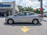 Look no further this 2016 Hyundai Elantra SE (A6) 4dr