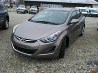 This one owner, 2016 Hyundai Elantra has 15-inch steel
